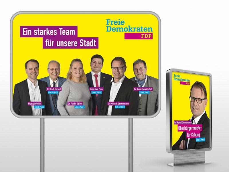 Erfolgreiche Wahlkampf-Werbung mit DS MARKETING